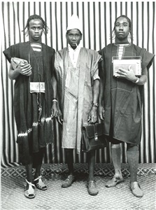 three young men by malick sidibé