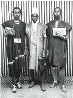 three young men by malick sidibé
