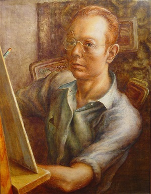 self-portrait by robert elton tindall