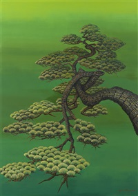 a pine of hope #6 by yoshio ikezaki