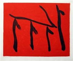 rite of passage 1b by robert motherwell
