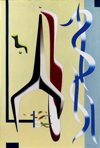 untitled, paris, november 21, 1936 by charles joseph biederman