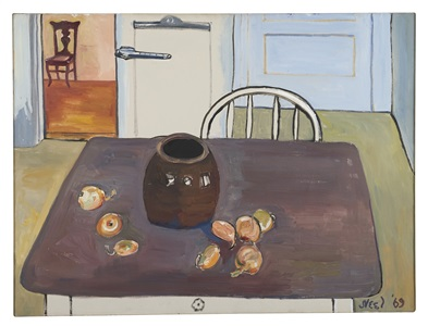 still life spring lake by alice neel