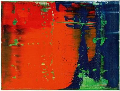 grün - blau - rot 789-38 by gerhard richter