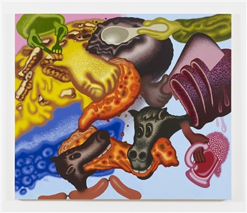 here comes the garbage by peter saul