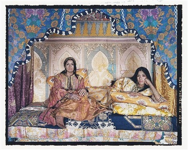 harem revisited no. 51 by lalla essaydi
