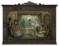 the parlor (allegory of magic, quintessence and divine mystery) by mark ryden