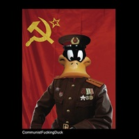 communistfuckingduck by max papeschi