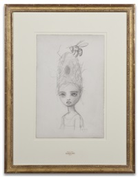 queen bee sketch by mark ryden