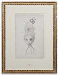 queen bee sketch by mark ryden