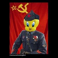 communistfuckingbird by max papeschi