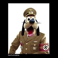 nazifuckingdog by max papeschi