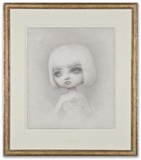incarnation portrait drawing by mark ryden