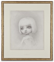 incarnation portrait drawing by mark ryden