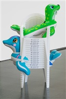 seal walrus (chairs) by jeff koons