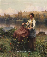 drying the clothes by daniel ridgway knight