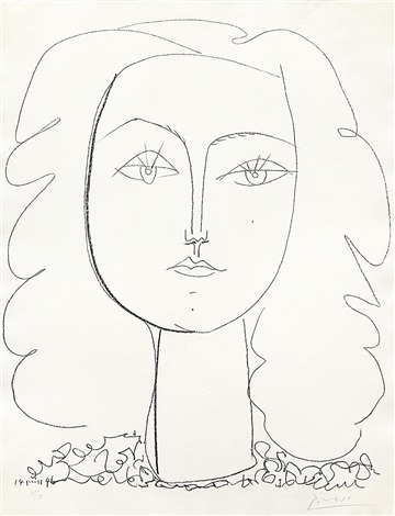 françoise by pablo picasso
