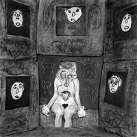 sepent lady by roger ballen