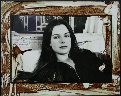 carole bouquet by peter beard