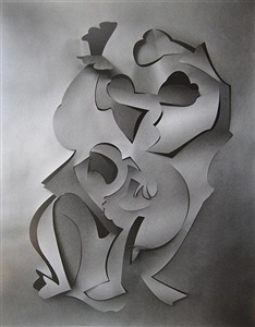 cut paper by frederick sommer