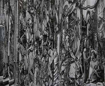 durer variation (horizontal by frederick sommer
