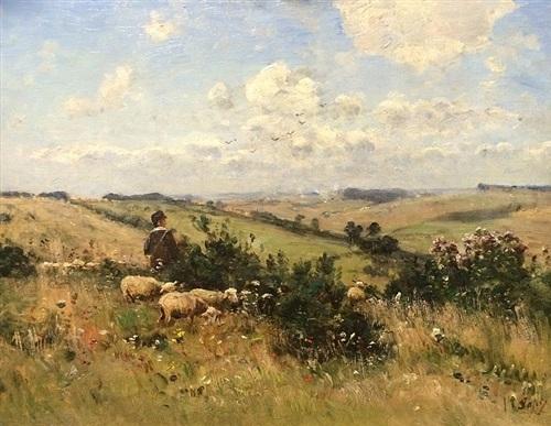 sheepherder by louis aimé japy