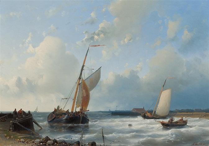 seascape by abraham hulk the elder