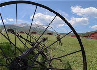 iron wheels of sopris mountain ranch by tom korologos