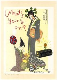 what's going on? by yoshitomo nara