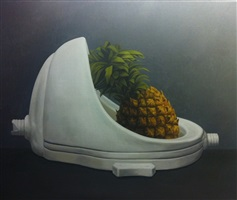 pineapple by zhao zhao
