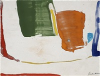 thanksgiving day by helen frankenthaler