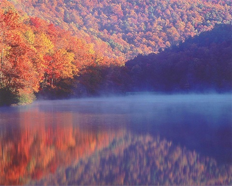 sherando sunrise, virginia by christopher burkett