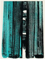 lithograph no.42 by pierre soulages