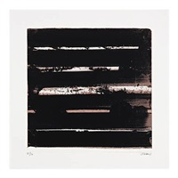 serigraphie no. 30 by pierre soulages
