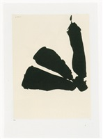 africa suite: africa 8 by robert motherwell