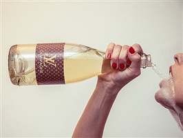 louis vuitton champagne by tyler shields