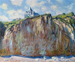 eglise de varengeville, effect matinal by claude monet