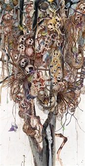 kopfbaum 5 by michael wutz