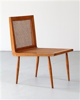 low bedroom chair by joaquim tenreiro