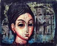 woman's face #588 by enrico campagnola