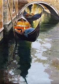 venice gondola by raffael fiore