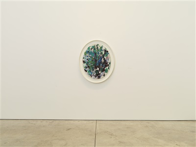 installation view by joan mitchell