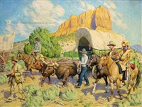 western wagon train by tim solliday