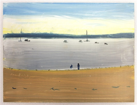 beach 1 by alex katz