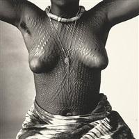 scarred dahomey girl, dahomey by irving penn