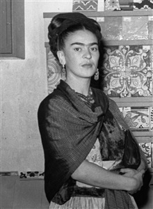 frida coyoacàn, méxico, 1943 by leo matiz