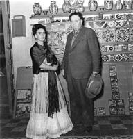 frida y diego coyacan, méxico, 1943 by leo matiz