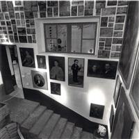 escaleras de la casa azul coyacan, méxico by leo matiz