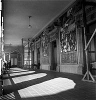 murales de diego rivera en palacio nacional ciudad de méxico, méxico, anni 40' by leo matiz