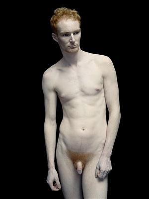 bodies: michael standing by nadav kander